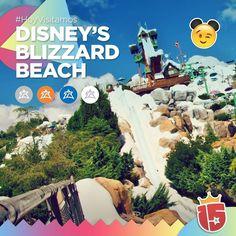En Disney's Blizzard Beach Water Park hay unos toboganes increíbles y super divertidos.  Los más lindos juegos de agua que hoy disfrutarán los grupos #blancoJ16 #azulJ16 #naranjaJ16 y #plateadoJ16!!!    #EstamosEnDisney con #Enjoy15!