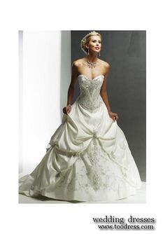 lovely corset wedding dresses