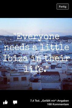 Ibiza quote