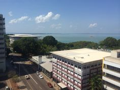 View from our hotel room in Darwin