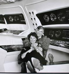 Majel Barrett-Roddenberry, wife of Star Trek creator Gene Roddenberry was also… New Star Trek, Star Wars, Star Trek Tos, Star Trek Characters, Star Trek Movies, Nave Enterprise, Akira, Star Trek Images, Star Trek Original Series