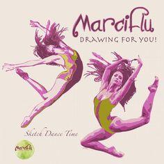 Drawing movement by Marciflu. follow the artist in Facebook: Marciflu