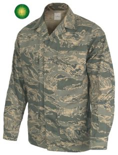 Propper® ABU Mens Coat Airmen Battle Uniform six pocket blouse. Four flapped front pockets and two slanted interior chest pockets for maps or small notebooks. 50%nylon/50%cotton. NIR Technology enhanced. Approved for use by the U.S. Air Force