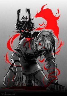 Link y Midna