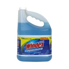 Windex features patented Ammonia-D that goes to work before you even wipe.  Leave