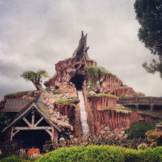 Splash mountain, top 5 Disneyland rides