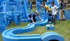 a breakthrough playspace concept designed to encourage child-directed, unstructured free play.