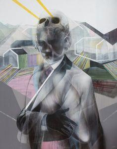 John Reuss Paintings - The Architect