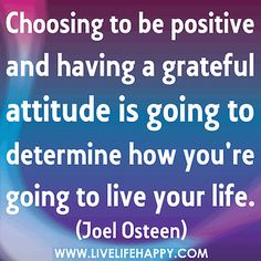 Choosing To Be Positive by deeplifequotes, via Flickr