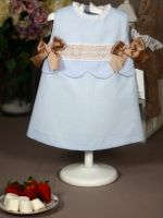 girl dress blue rochy