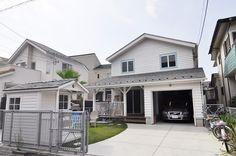 湘南のサーファーズハウス海を気持ちよく楽しめるカリフォルニアスタイルの家