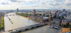 View from the London Eye — earthXplorer adventure travel photography