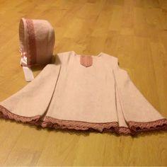 Patrón vestido y capota niña de 3 a 18 meses (patrón gratuíto)