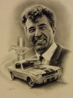Carroll Shelby 23-12 an American Legend has gone from us. Rest in peace, but never slow down!