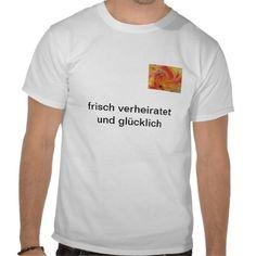 T-Shirt frisch verheiratet und glcklich