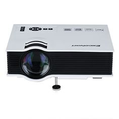 Excelvan UC40 - Mini proyector portátil LED Home Cinema (800 lúmenes, resolución…
