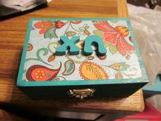 will be making a pin box