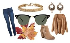 """""""Untitled #29"""" by gaffos ❤ liked on Polyvore featuring Vince Camuto, Croft & Barrow, Ray-Ban, Paige Denim, Givenchy and Blue Nile"""