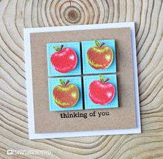 Apple Of My Eye | Clearly Besotted Stamps