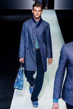 Giorgio Armani Spring 2014 Menswear - Collection - Gallery - Style.com