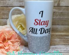 Your Shop - Items My Favorite Color, My Favorite Things, Slay All Day, Getting Things Done, How To Get, Glitter, Mugs, Tableware, Inspiration