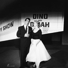 Dean Martin and Dinah Shore on the Dinah Shore Chevy Show 1956