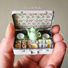 2017.10 Miniature Tea Sweet Case♡ ♡ By Le Mini Di Claudia