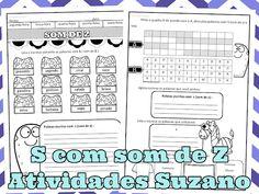 S com som de Z EM PDF | Atividades Pedagogica Suzano
