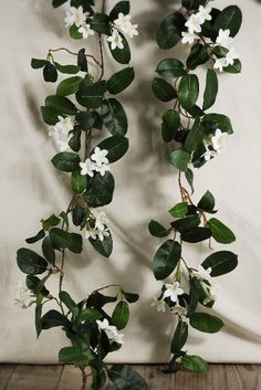 Decoration for sides of wedding wagon?  Wedding Garlands 6' Stephanotis Flowers $15 each / 3 for $13 each