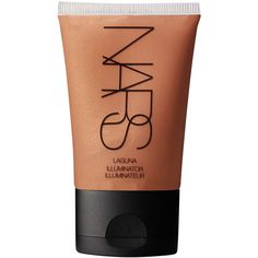 Nars 'Laguna' Illuminator (€27) ❤ liked on Polyvore featuring beauty products, makeup, face makeup, beauty, fillers, cosmetics, faces, nars cosmetics and highlight makeup