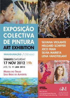 exposição collectiva de pintura 2013