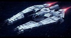 Star Wars VCX-820 escort freighter by AdamKop: