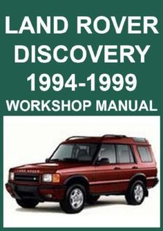 Land rover 90110 and defender service and repair manual haynes land rover discovery 1994 1999 workshop manual fandeluxe Choice Image