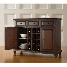 Crosley Furniture KF42001DMA Cambridge Buffet Server Cabinet $399.99