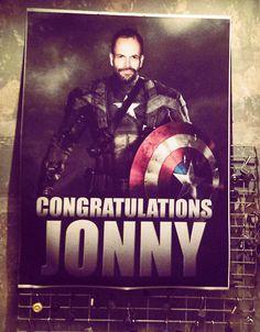 Congratulations to new U.S. citizen Jonny Lee Miller!