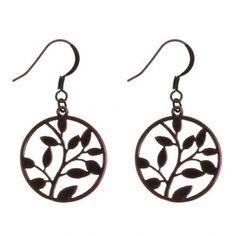 Eco Earrings in Bronze- Cute