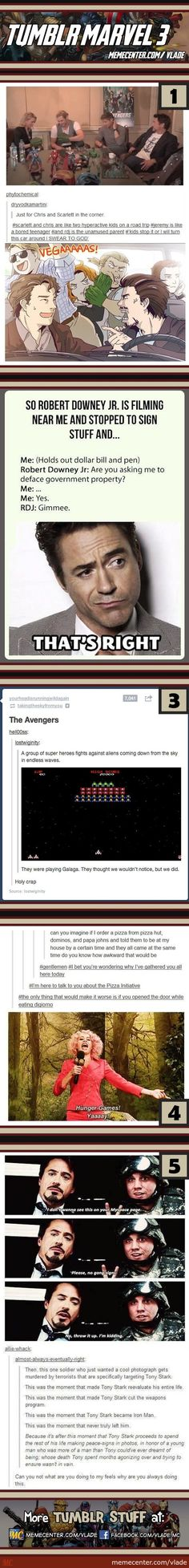 Tumblr Marvel #3  #5.... The feels.....