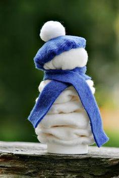 yo-yo snowman