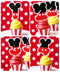 Mickey Mouse Party Printable Birthday - Clubhouse - Inspired by Mickey Mouse - HUGE Party Set by Amanda's Parties TO GO. $29.00, via Etsy.