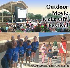 A 3 day Southern Georgia Festival kicks off with an outdoor movie event.