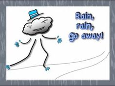 Rain, Rain, Go Away! Perfect for wet days and weather lessons. Plus learn about family members.