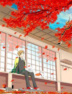 Tags: Anime, Fanart, Natsume Yuujinchou, Pixiv, Nyanko-sensei | Brain's Base | Yuki Midorikawa