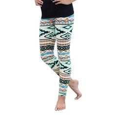 2017 New Women's Plus Size Tribal Aztec Printed Leggings 9 Colors Long Soft Size S-XL Z1