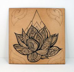 lotus mandala tattoo - Whole book of lotus images Deviantart Tattoo, Mandalas Painting, Mandalas Drawing, Future Tattoos, Love Tattoos, Tatoos, Art Du Cuir, Lotus Mandala Tattoo, Inspiration Tattoos