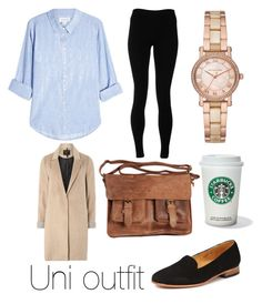 University Outfit Smart and Casual by pretentious-filmstudent on Polyvore featuring polyvore, fashion, style, Velvet, mel, Solow, Dieppa Restrepo, Rowallan, Michael Kors and clothing