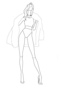 tryed this one and it was preety good Fashion Drawing Tutorial, Fashion Figure Drawing, Fashion Model Drawing, Fashion Design Drawings, Fashion Sketches, Fashion Illustration Poses, Fashion Illustration Template, Fashion Figure Templates, Fashion Design Template