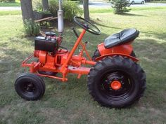 1960s Wheel Horse 1045 Garden Tractor, Riding Mower ...