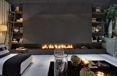 40 Hot Fireplace Ideas for a Cool, Sexy SpaceStudioAflo   Interior Design Ideas   StudioAflo   Interior Design Ideas