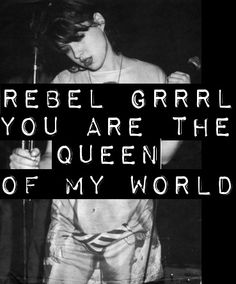Come and be my best friend really rebel girl