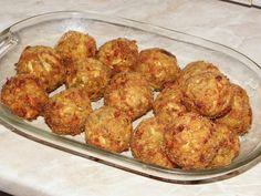 Karcsi főzdéje: Cukkini fasírt